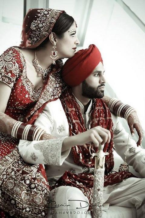 indian pakistani bollywood bride and groom desi wedding sikh punjabi ...