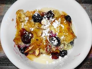 Blueberry Almond French Toast Bake   Yummies   Pinterest