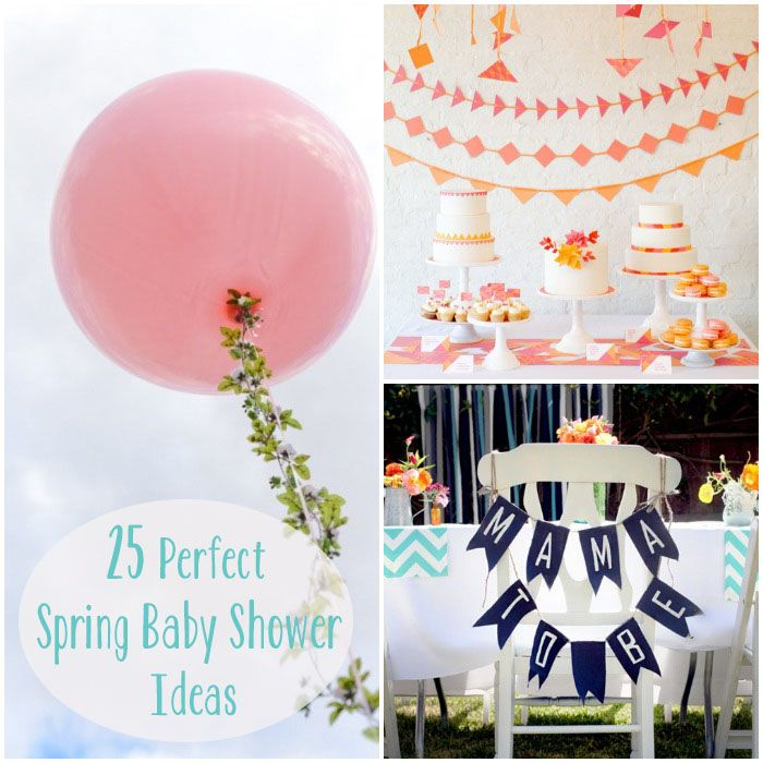 25 perfect spring baby shower ideas all things baby pinterest