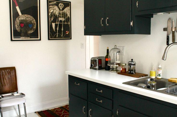 Valspar Countertop Paint : kitchen cabinet paint re-do. valspar