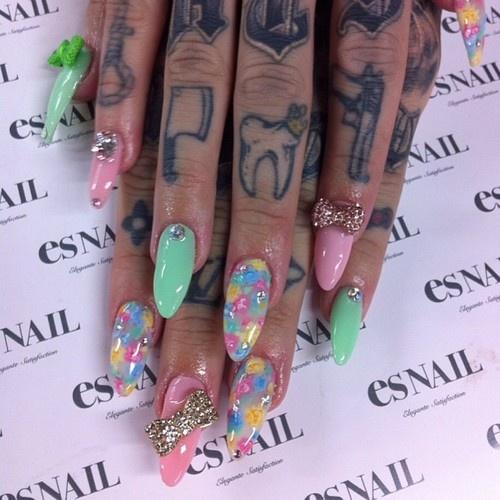 Jeffree Star Finger Tattoos Jeffree star's nails