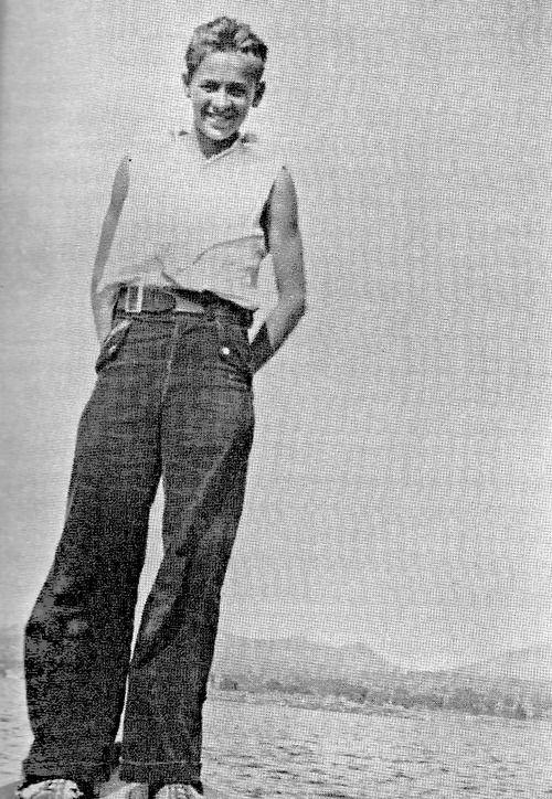William Holden in 1930, age 12