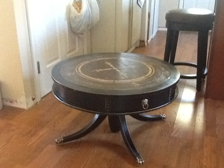 Antique Table Upcycled Into Coffee Table Home Decor Pinterest
