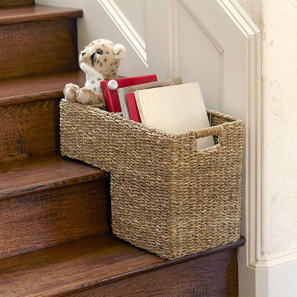 Stair Organizer Basket