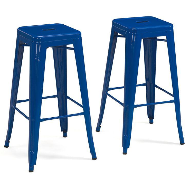 Tabouret 30 inch Baja Blue Metal Bar Stools Set of 2 : 7375abbf3661848e7582a5f7bd117763 from pinterest.com size 736 x 736 jpeg 45kB