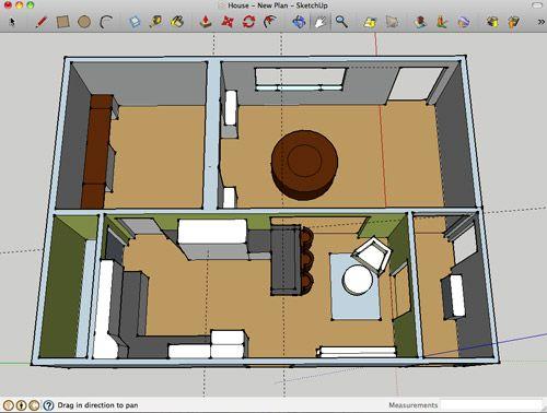 Using Google Sketch Up Floorplanner Ikea 39 S Kitchen Planner