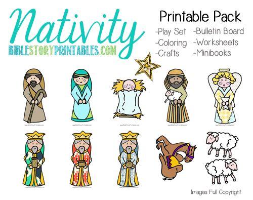 NativityPackPin | Christian - Nativity | Pinterest