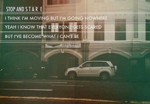 stop and stare lyrics