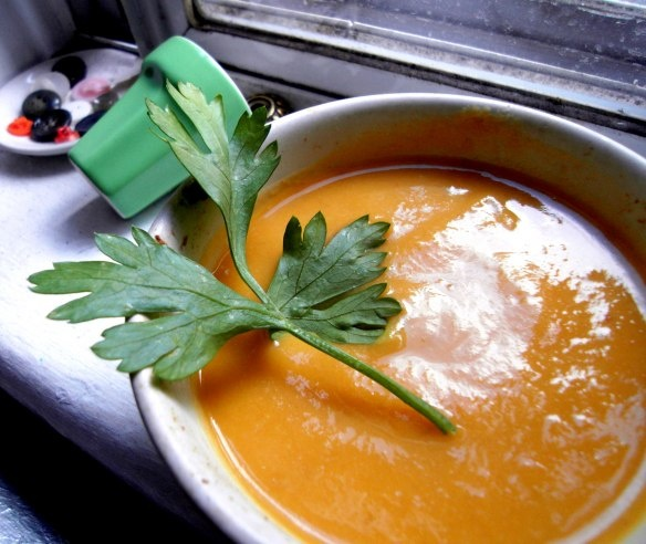 Carrot Fennel Soup for good degestion | Cooking | Pinterest