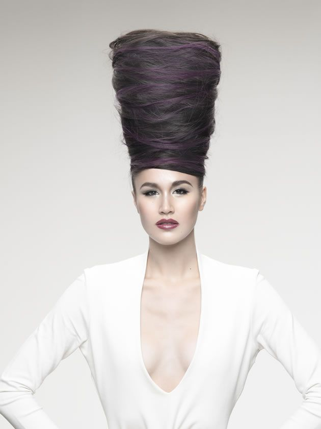 High haute couture purestyle couture hair pinterest for Haute hairie