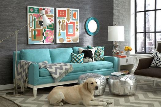jonathan adler designed living room