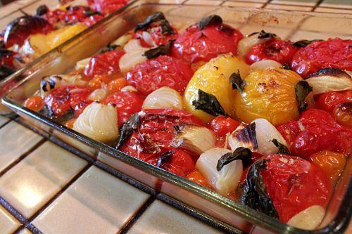 Cherry Tomato Marinara Sauce Recipe | Flavors | Pinterest