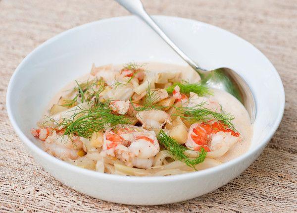 Summertime Shrimp Chowder - Framed Cooks