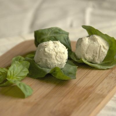 hunger games recipe prims basil wrapped goat cheese balls