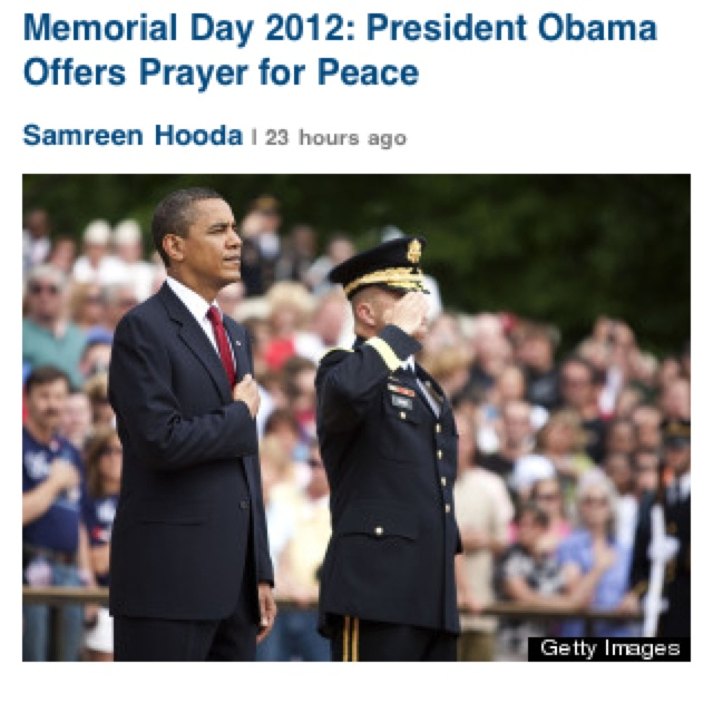 obama memorial day wreath