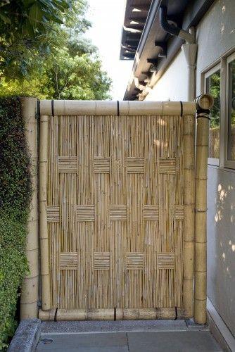 bamboo gate landscaping gates and garden entrances