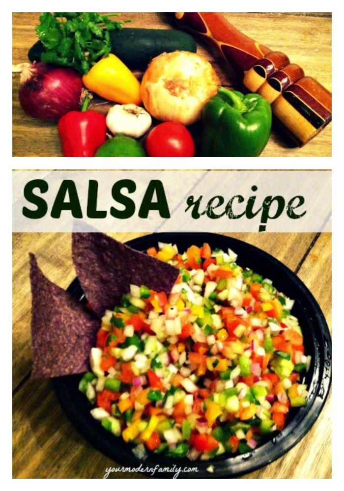 ... HEALTHY WHOLE FOODS... pico de gallo recipe - Your Modern Family