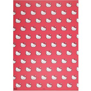 Hello Kitty Wrapping Paper Stationary I Love Pinterest