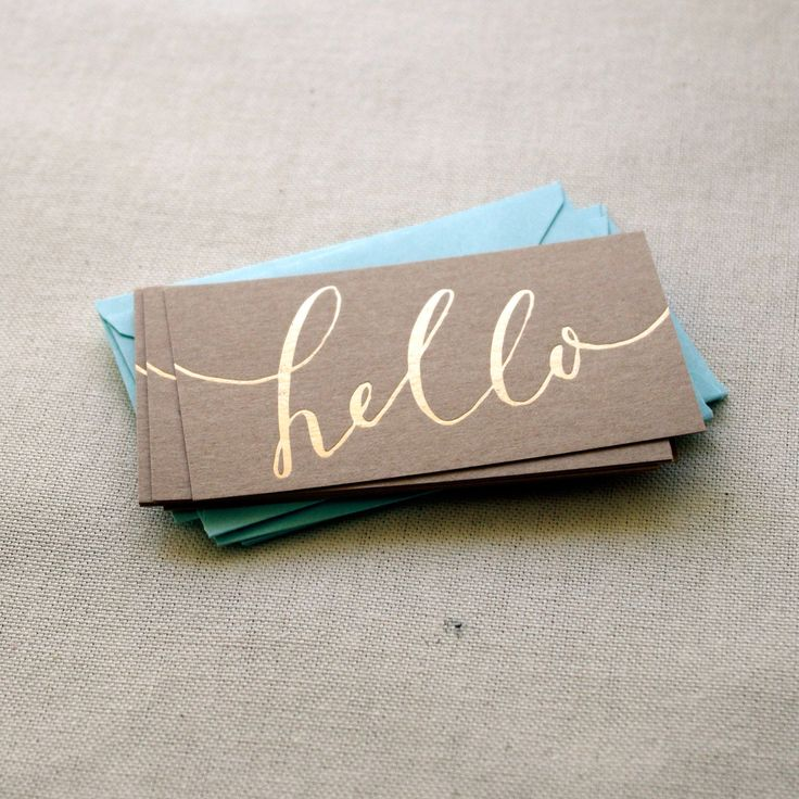 gold foil Business Card Ideas