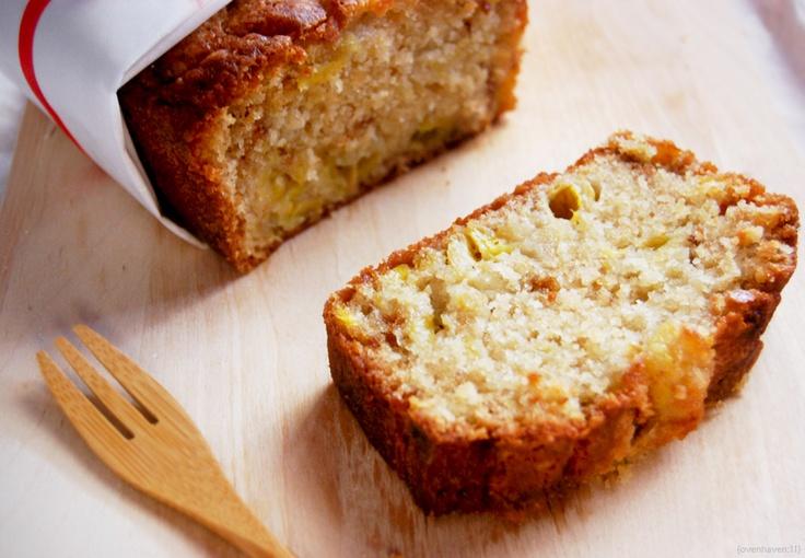 Buttermilk Banana Bread = Yum! Tastes like banana bread pudding.