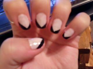 nail design using tape | nails using tape | Pinterest