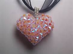 Free Puffy Heart Pendant Instructions - Bing Images | Jewelry ...