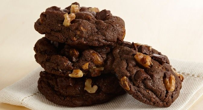 Double Chocolate Chunk Cookies : Satisfy your chocolate craving with ...