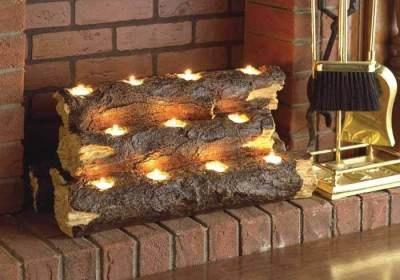 tea light fireplace insert