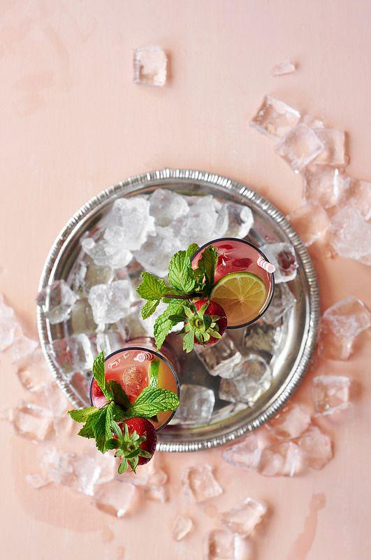 Strawberry Rhubarb Sangria | Beautiful Food: Sweet | Pinterest