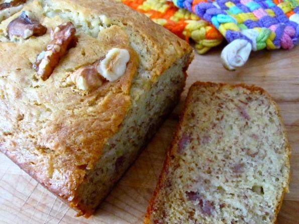 Sour Cream Banana Bread | food creations | Pinterest
