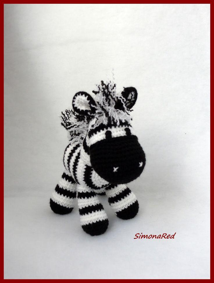 Zebra Juventus Amigurumi : amigurumi zebra Ms. Jojo Pinterest