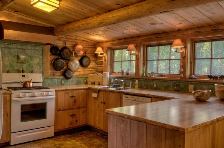 Rocking H Cabin Kitchen Kitchen Ideas Pinterest