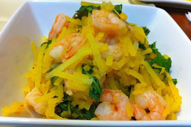 herb and herb kamut spaghetti angel hair pasta with spicy shrimp lemon ...