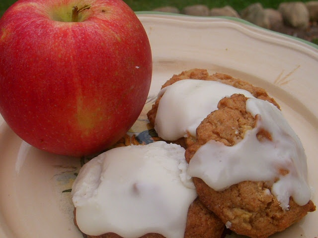 On Just A Couple Acres: Glazed Apple Cookies