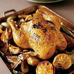 ... pound whole roasting chicken, which is more readily available