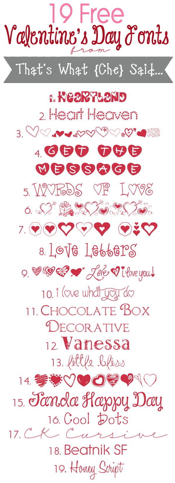 printable valentine fonts