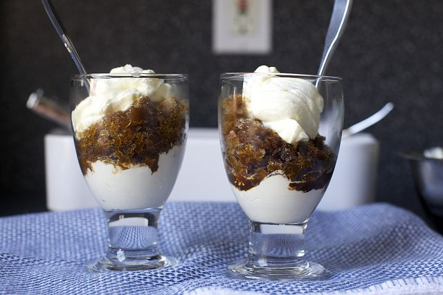 espresso granita with whipped cream | Yummy things to make. | Pintere ...