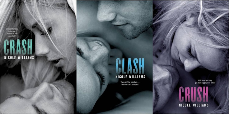 Crash Series by Nicole Williams; Love love loveeeeed it. Omg♥