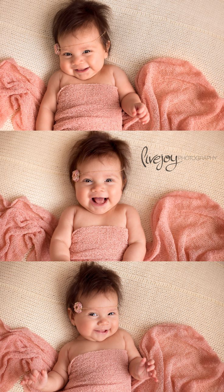 Baby photo poses 3 months Tips For 3 Month Baby Portraits - Sarah Kane Photography