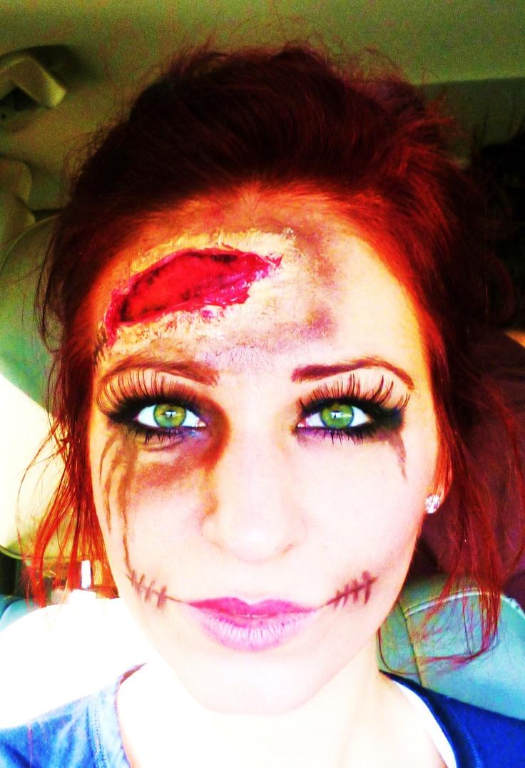 Zombie Makeup Green Eyes