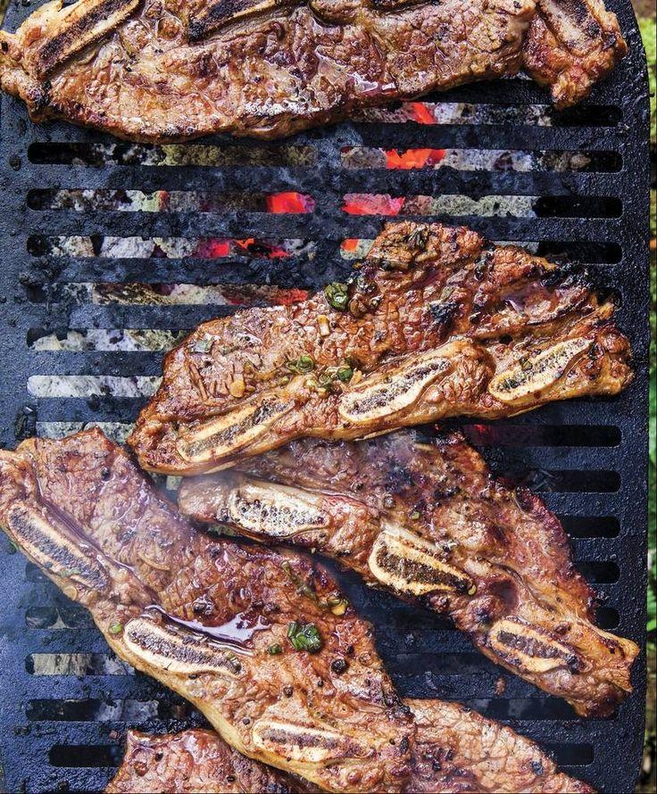 Kalbi, Korean-style grilled ribs