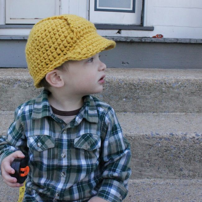 hard hat pattern from Micah Makes $5.95 Crochet Patterns I own Pi ...
