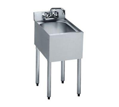Corner Bar Sink : Krowne 18-1C Under Bar Sink - 10x14x7