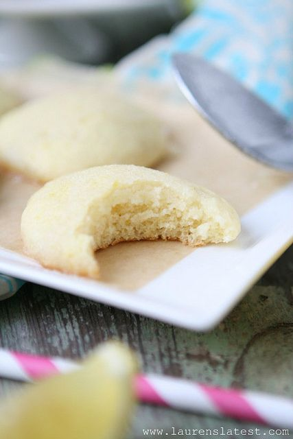 Lemon Glazed Lemon Cookies | lemons | Pinterest