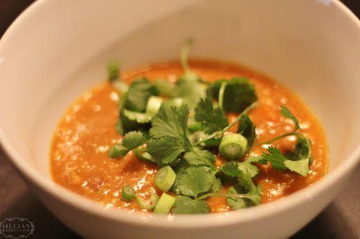 coconut red lentil | SOUP | Pinterest