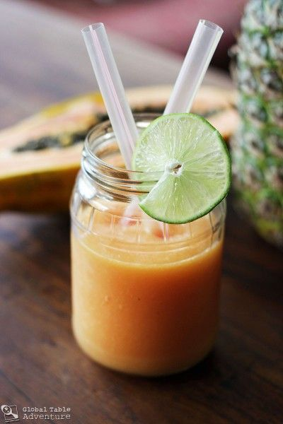 Pineapple Papaya Coco Sipper (with poll) | Recipe