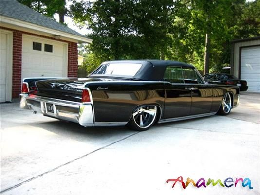64 Convertable Lincoln Continental w suicide doors!!