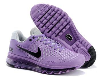 women s new nike air max 2013 purple white black running shoes women s