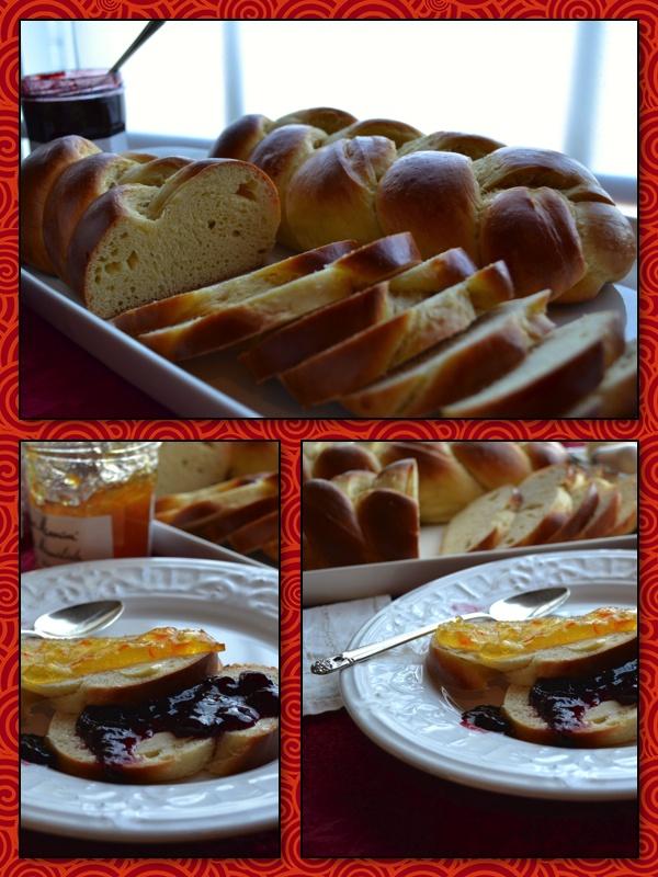 Armenian Easter Bread (Choereg) ~ No...I don't have my holidays mixed ...