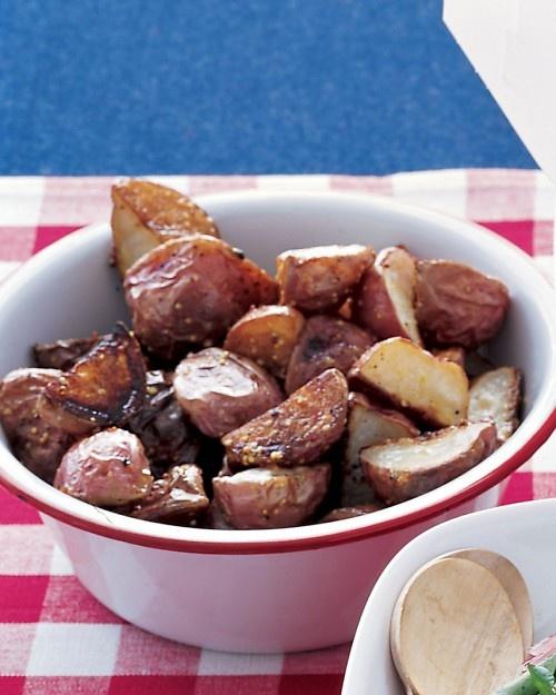 Roasted Mustard Potatoes - everyday food